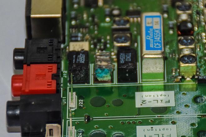 Szervíz: így rohad az FT-857/897 KF szűrője