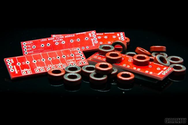 Sávról sávra: készítsük el az uSDX szűrőit!